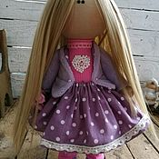 Куклы и игрушки ручной работы. Ярмарка Мастеров - ручная работа Текстильная кукла Черничка. Handmade.
