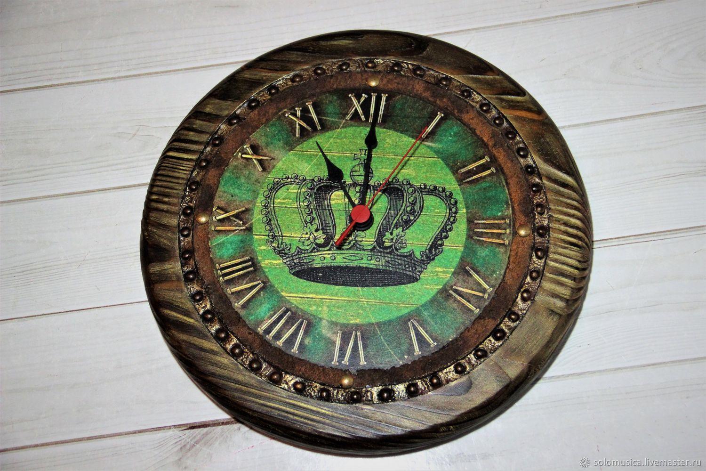 Wall clock with crown, Watch, Krasnodar,  Фото №1