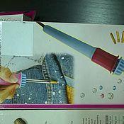 Материалы для творчества ручной работы. Ярмарка Мастеров - ручная работа паяльник для страз. Handmade.