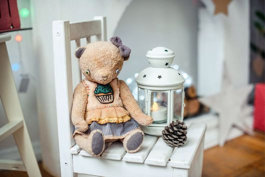 Мишки Тедди ручной работы. Ярмарка Мастеров - ручная работа. Купить Мишка Тедди Мика. Handmade. Тедди, плюш винтажный