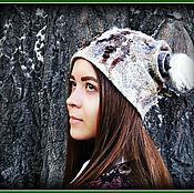 Аксессуары ручной работы. Ярмарка Мастеров - ручная работа Шапка валяная Брунгильда, дочь викинга. Handmade.