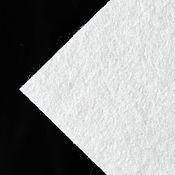 Материалы для творчества ручной работы. Ярмарка Мастеров - ручная работа Фетр 2мм для вышивки, смесовый, Испания, 30х22,5см белый. Handmade.