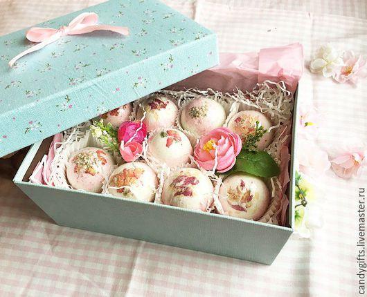 Candy Gifts , Подарочный набор `Bath-Bombs`