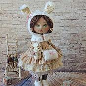 Куклы и игрушки ручной работы. Ярмарка Мастеров - ручная работа Мамина зайка. Handmade.
