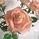 Цветы ручной работы. Роза чайная. Алла Даниленко. Интернет-магазин Ярмарка Мастеров. Роза, подарок на день рождения