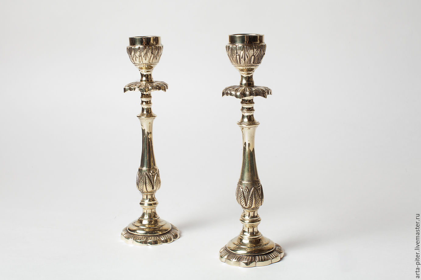 Candlestick for 1 candle 'Bud', Candlesticks, St. Petersburg,  Фото №1
