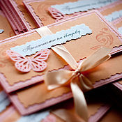 Свадебный салон ручной работы. Ярмарка Мастеров - ручная работа Свадебные приглашения-конверты. Handmade.