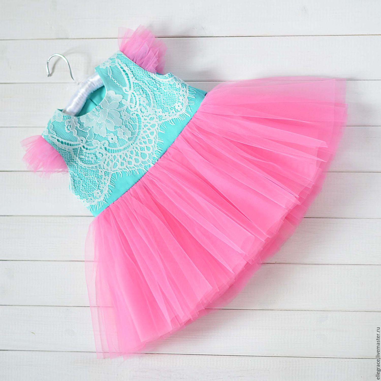 Платье на годик девочке купить