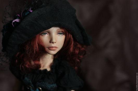 """Коллекционные куклы ручной работы. Ярмарка Мастеров - ручная работа. Купить Авторская шарнирная кукла """"Федерика"""" (продана ). Handmade."""