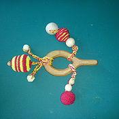 Куклы и игрушки ручной работы. Ярмарка Мастеров - ручная работа прорезыватель буковый. Handmade.