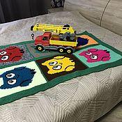 Работы для детей, handmade. Livemaster - original item Children`s blanket for the baby