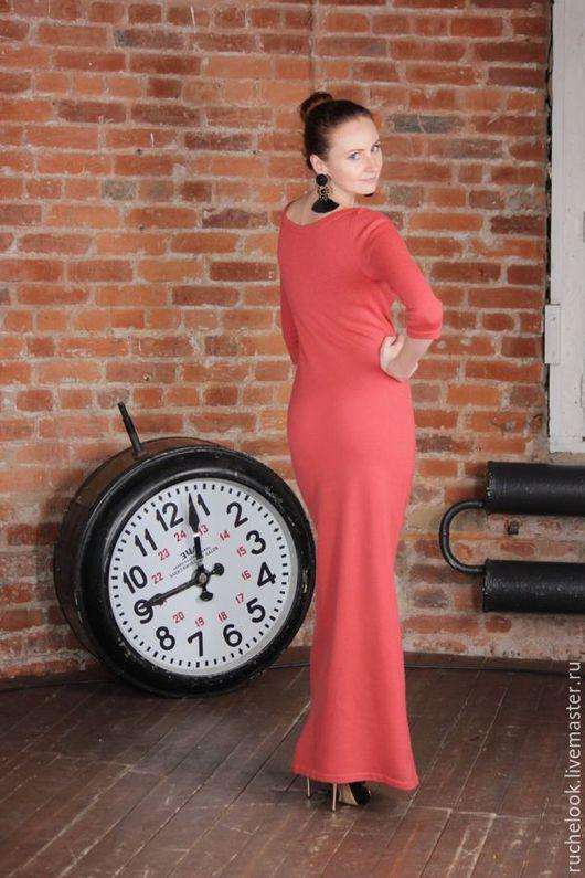 Длинное платье, платье длинное в пол, платье макси, вязаное длинное платье, длинное вязаное платье, вязаное платье в пол, вязаное платье макси, вечернее платье, кашемировое платье, кашемир