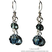 Украшения handmade. Livemaster - original item earrings Rain. Handmade.