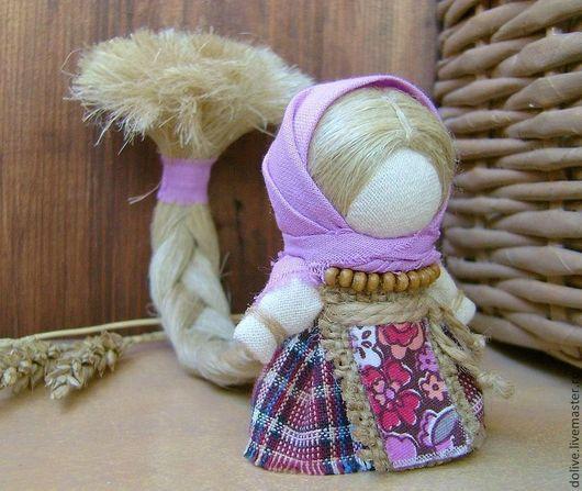 """Народные куклы ручной работы. Ярмарка Мастеров - ручная работа. Купить Куколка на счастье """"Сиреневая"""". Handmade. Сиреневый, народная кукла"""
