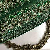handmade. Livemaster - original item Fabric antique No. №456. Handmade.
