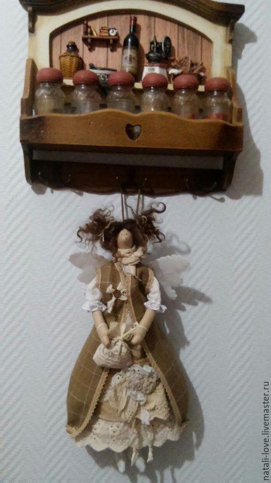 Куклы Тильды ручной работы. Ярмарка Мастеров - ручная работа. Купить Кофейная фея. Handmade. Бежевый, кукла Тильда