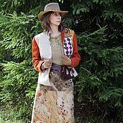 """Одежда ручной работы. Ярмарка Мастеров - ручная работа Жакет """"Габриэль"""" и юбка """"Навахо"""". Handmade."""