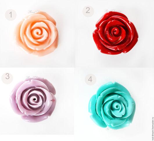 Для украшений ручной работы. Ярмарка Мастеров - ручная работа. Купить Резные розы, 10,15 и 20 мм (8 видов)арт. Burose01. Handmade.