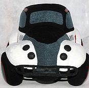 Куклы и игрушки ручной работы. Ярмарка Мастеров - ручная работа Гоночный автомобиль мягкая игрушка. Handmade.