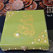 Фен-шуй и эзотерика handmade. Livemaster - original item Box for storing money