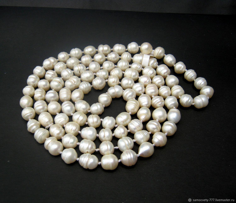 Long necklace'Pearl', Necklace, Feodosia,  Фото №1