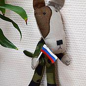 """Куклы и игрушки ручной работы. Ярмарка Мастеров - ручная работа Пес """"Дозор"""". Handmade."""