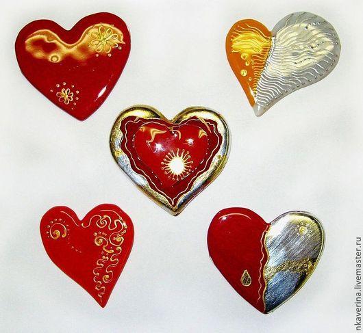 """Подарки для влюбленных ручной работы. Ярмарка Мастеров - ручная работа. Купить магнитик """"Сердце"""". Handmade. Сердце, подарок влюбленным, стекло"""