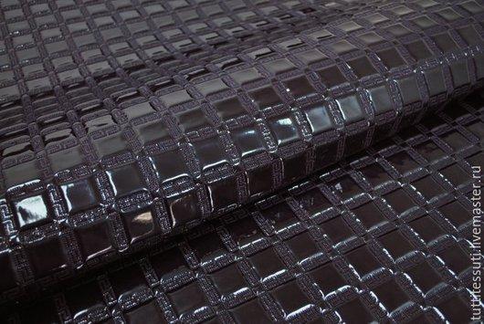 Шитье ручной работы. Ярмарка Мастеров - ручная работа. Купить Ткань для сумок 20-003-2064. Handmade. Тёмно-фиолетовый