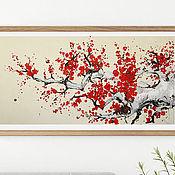 Картины и панно handmade. Livemaster - original item Picture Sakura. Handmade.
