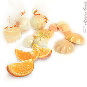"""Косметика ручной работы. Ярмарка Мастеров - ручная работа Набор для ванны """"Сочный апельсин"""". Handmade."""