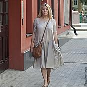 Одежда ручной работы. Ярмарка Мастеров - ручная работа Платье вискоза art.031c. Handmade.