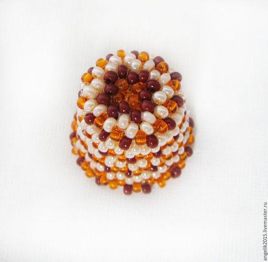Миниатюрные модели ручной работы. Ярмарка Мастеров - ручная работа. Купить Наперсток из бисера.  Наперсток  сувенирный декоративный. Handmade.