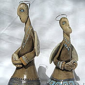 Для дома и интерьера ручной работы. Ярмарка Мастеров - ручная работа Ангельские колокольчики (несколько вариантов). Handmade.