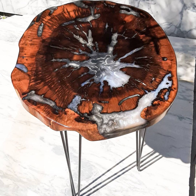 Журнальный стол из карагача, Столы, Санкт-Петербург,  Фото №1