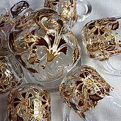 Посуда handmade. Livemaster - original item Hand painted tea set. Handmade.