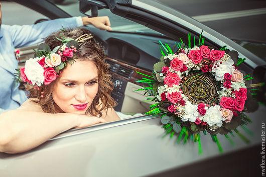 Бюджетное оформление свадьбы_фуксия