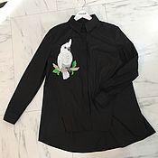 Одежда ручной работы. Ярмарка Мастеров - ручная работа Рубашка с вышивкой. Handmade.