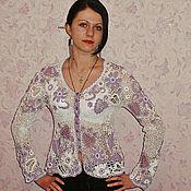 """Одежда ручной работы. Ярмарка Мастеров - ручная работа Кофточка """"Нежность"""". Handmade."""