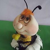 """Куклы и игрушки handmade. Livemaster - original item Шмель """"Жужа"""". Handmade."""