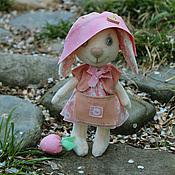 Куклы и игрушки ручной работы. Ярмарка Мастеров - ручная работа Зайка Яблонька. Handmade.