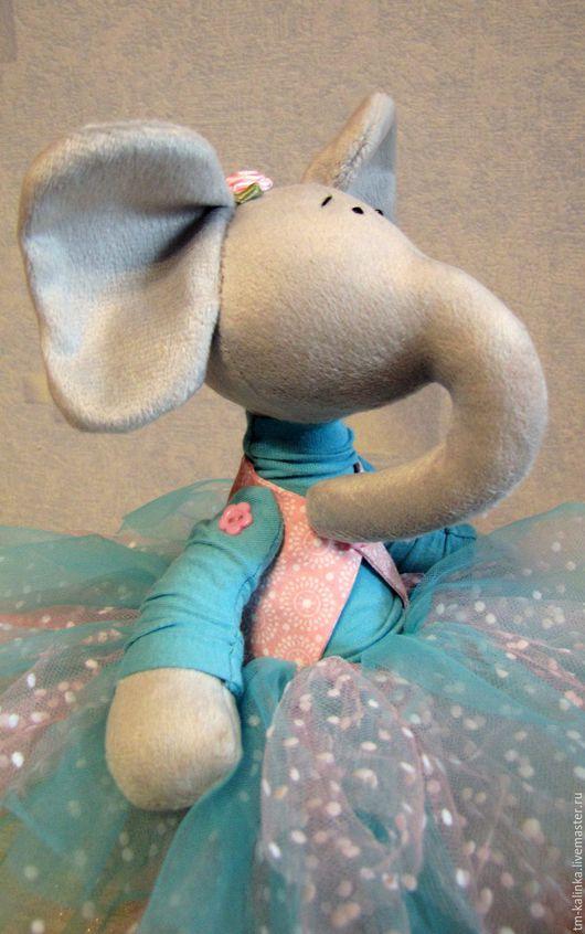 Игрушки животные, ручной работы. Ярмарка Мастеров - ручная работа. Купить Слоник. Handmade. Слон, слон игрушка, игрушки, трикотаж
