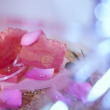 Косметика ручной работы. Ярмарка Мастеров - ручная работа Мыло натуральное с нуля Эгоистка элитное мыло Розовый. Handmade.