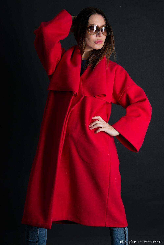 красное пальто и кремовый палантин фото противном случае, человек