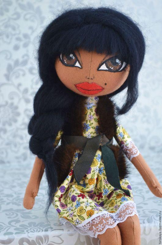 Куклы тыквоголовки ручной работы. Ярмарка Мастеров - ручная работа. Купить Интерьерная кукла. Handmade. Коричневый, кукла интерьерная
