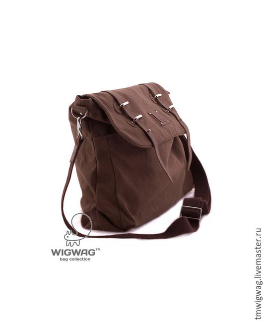 Женские сумки ручной работы. Ярмарка Мастеров - ручная работа. Купить Женская сумка-рюкзак (трансформер) из канваса и натуральной кожи. Handmade.