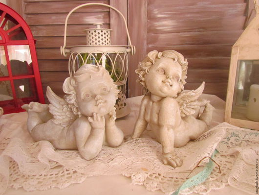 `Ангелочки на отдыхе` 14см*15*11 цена 568руб.