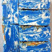 Косметика ручной работы. Ярмарка Мастеров - ручная работа мыло с нуля «Морская волна». Handmade.