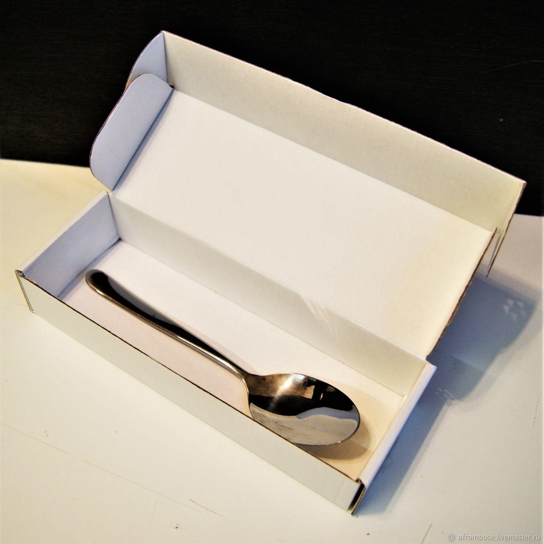 """Коробка """"Белый крафт-7"""" 21х7х4см  микрогофрокартон, Упаковка, Москва, Фото №1"""