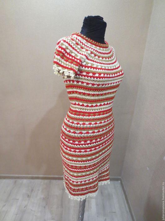 Платья ручной работы. Ярмарка Мастеров - ручная работа. Купить Платье в стиле Монторо. Handmade. Комбинированный, нарядное платье