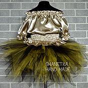 Работы для детей, ручной работы. Ярмарка Мастеров - ручная работа Юбка пачка из фатина юбка туту для девочки. Handmade.